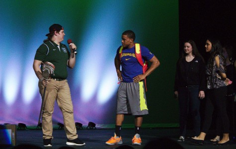Reed, new addition to Mr. GCHS royalty