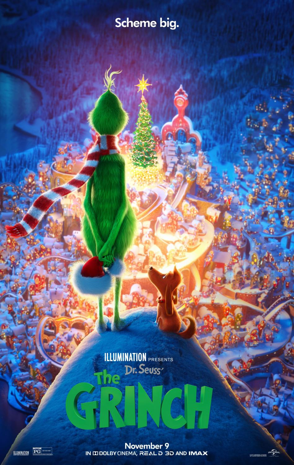 The Grinch flops into theaters