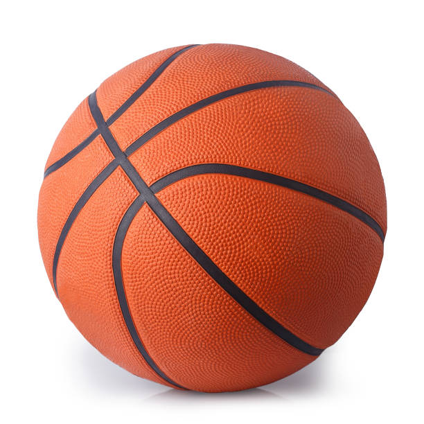 orange+basketball+ball+isolated+on+white+background