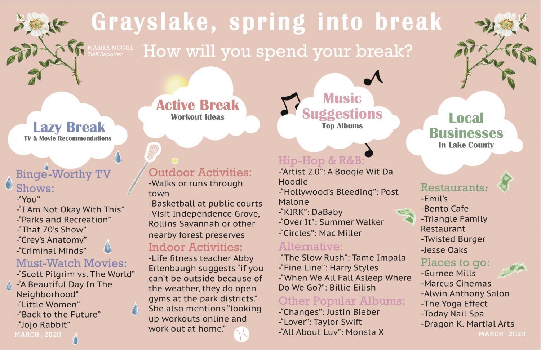 Grayslake, spring into break