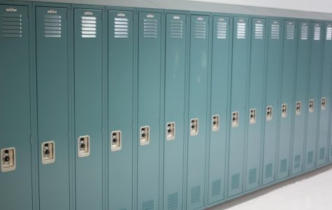 Around 30% of these lockers have fallen into disuse, with many students saying they do not even remember where their locker is. Photo by Caden Moe
