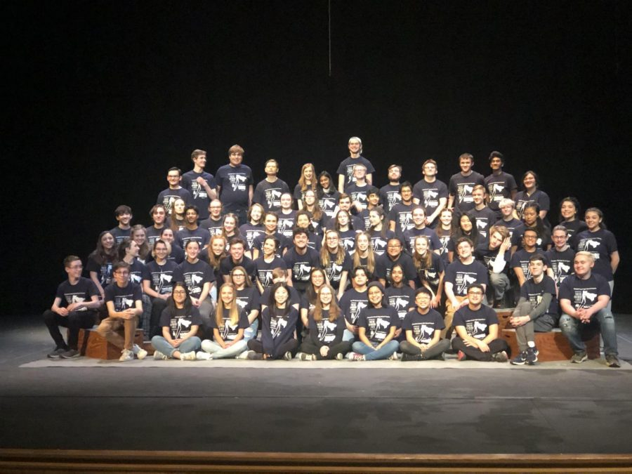 Pictured above is the full cast and crew for CPGI, all of whom were affected by the cancellation, in a company photo. Photo provided by Maureen Ritter.