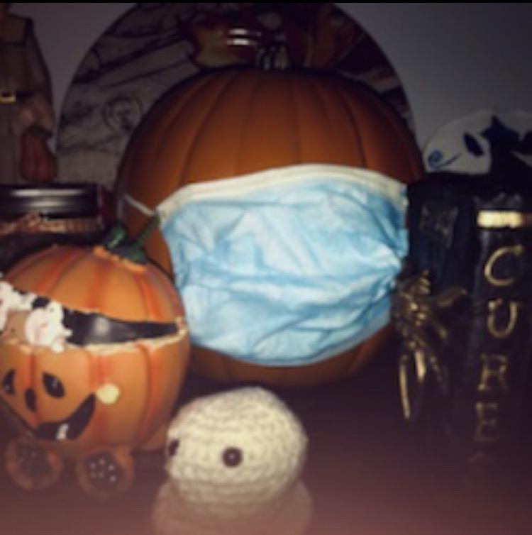 Halloween celebrating safely