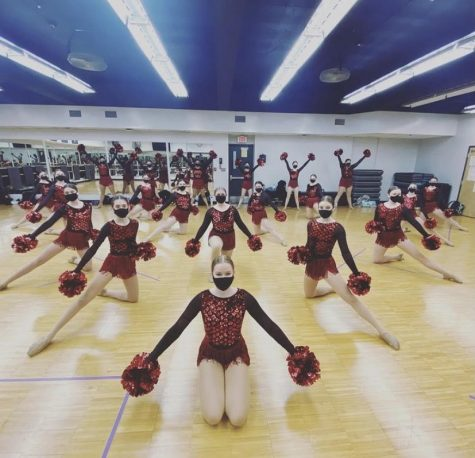 "On Feb. 18-20, the dance team creates a video for their competition instead of physically going to one. The season has seen many changes like these, but the team keeps tradition to uplift morale. ""We"