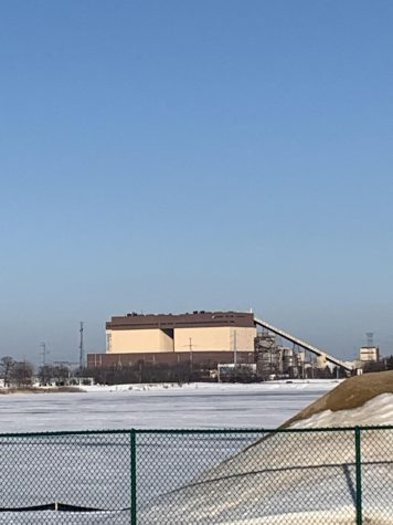 Pleasant Prairie coal power plant  looms over the Pleasant Prairie sport complex. This power plant is being taken down to make room for a new solar panel field, which started in late 2020. Clean energy conversion has begun so close to home.