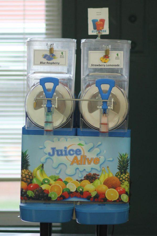 New slushie machine gets added to cafeteria