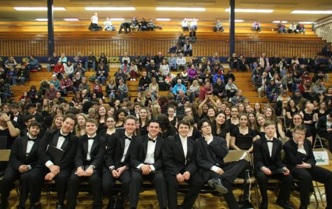 Band and choir participate in NLCC music festival