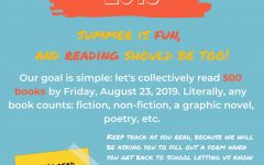 Summer reading sets goal of 500 books