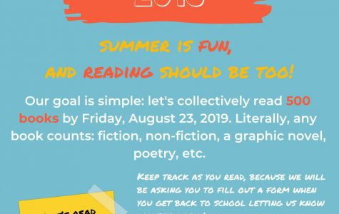Summer reading sets goal of 500 books