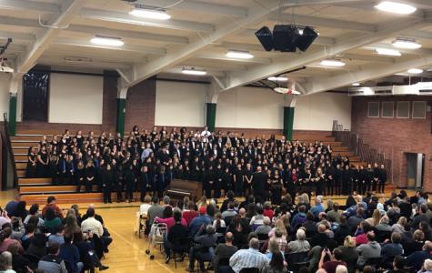 Choir blends harmoniously