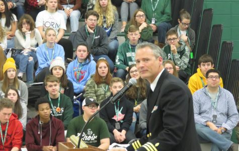 Students pay veterans tribute