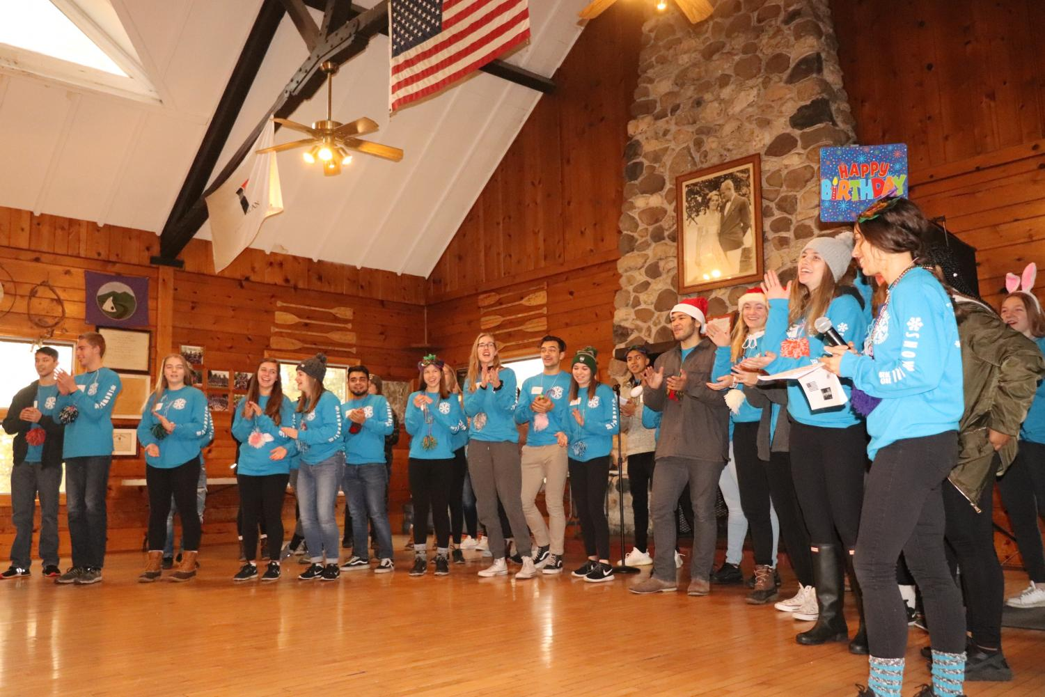 YACs introducing the Snowball day. Photo provided by Snowball sponsor Angela Gargiulo