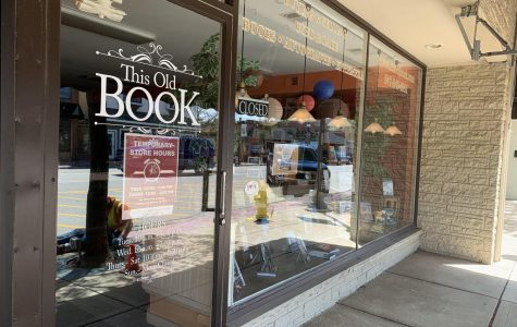Although it's physically closed, This Old Book's online book service is a great way to get new books and support a local business.