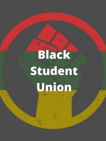 On this Black Student Union logo, the fist means Black power and symbolizes black people coming together to make change