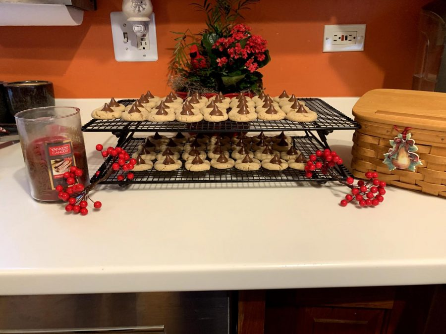 Families use old recipes to make cookies for the holiday season. The smell of cookies bring back the memories of the past.