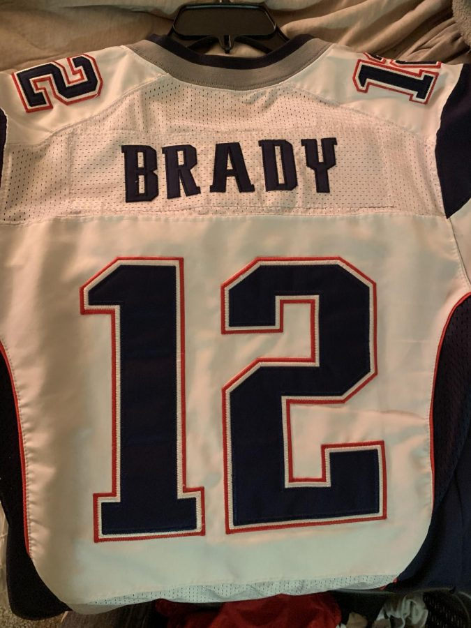 Tom Brady used to be with the New England Patriots for 20 seasons before he went to the Tampa Bay Buccaneers. Brady played in nine Super Bowl games with the Patriots, winning six of them. Photo by Ben Terronez.