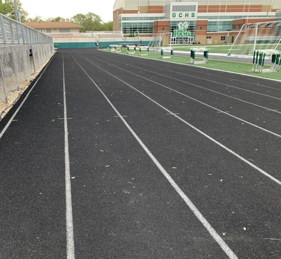 This+track+is+home+to+the+boys%27+track+and+field+members.+Photo+by+Kristen+Orlowski