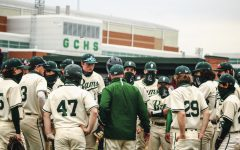 Rams after beating Palatine 11-3 gather as they reflect on the game they won.