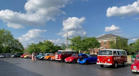 Here is a Cars and Coffee meet at Dog N Suds on Sunday, May 23. This wasn't as big as it normally is since it was only Volkswagens, but normally every month during the summer, there
